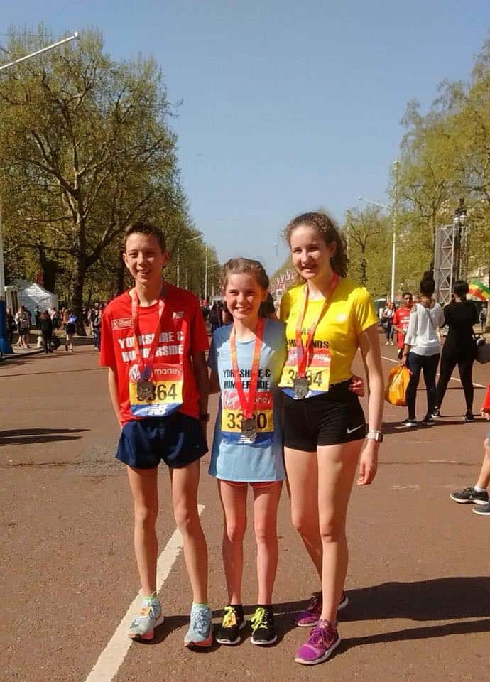 Virgin London Mini Marathon Cleethorpes Athletics Club